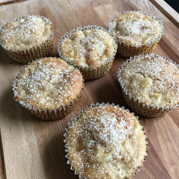 appel-kaneel muffin klein