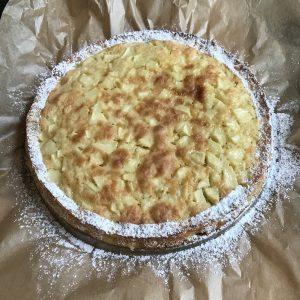 Eenvoudige appelcake