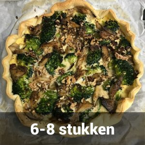 Quiche broccoli makreel groot