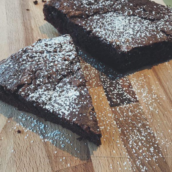 Gluten- en lactosevrije chocoladetaart