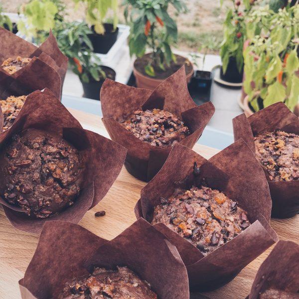 Gini's Chocolade-Chili Muffin