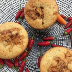 Gini's groene curry muffin